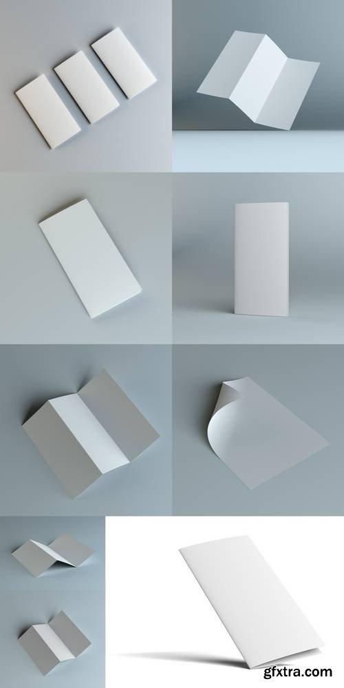 Simple Blank Brochure Corporate Identity