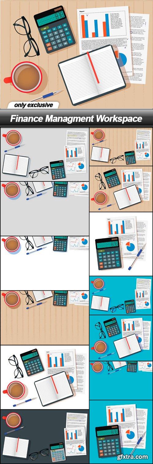 Finance Managment Workspace - 13 EPS