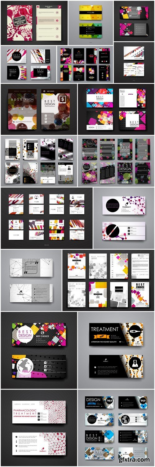 Abstract Design And Layout - 20 Vector