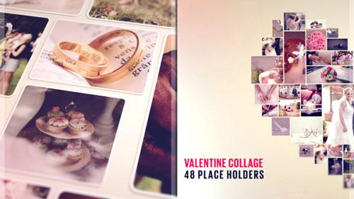 VideoHive - Valentine Collage 19328855