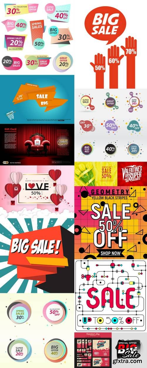 Sale Labels - Banners