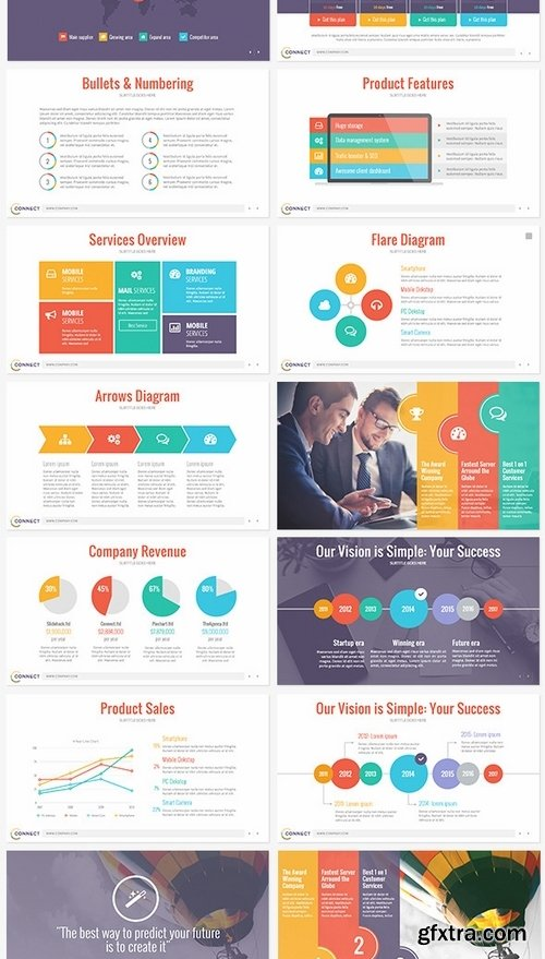 GraphicRiver - Connect - Modern Keynote Template 8975842