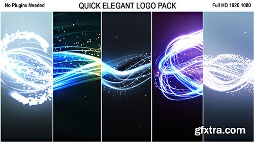 Videohive - Quick Elegant Logo Pack (5 in 1) - 19300914