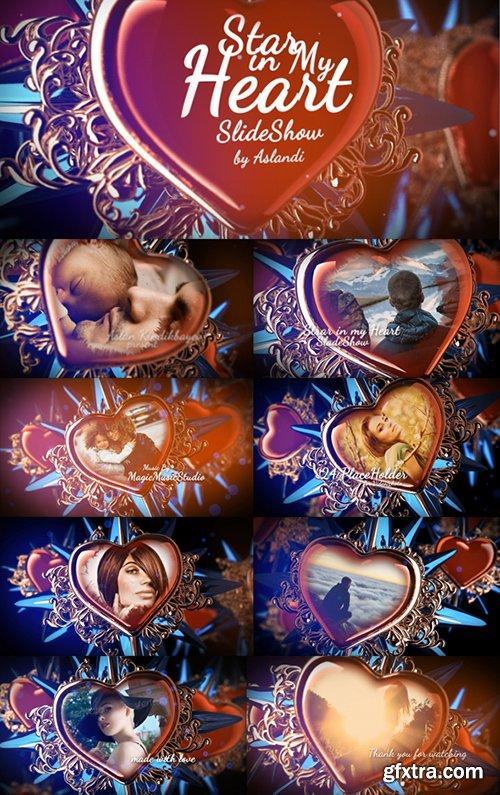 Videohive Valentine Day Star in My Heart SlideShow Photo Gallery 14080381