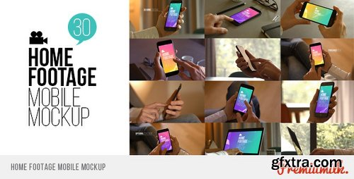 Videohive Home Footage Mobile Mockup 19169905