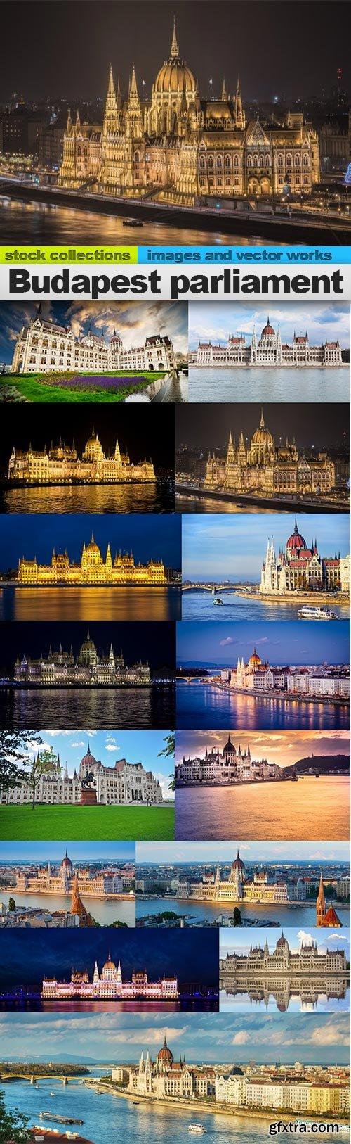 Budapest parliament, 15 x UHQ JPEG