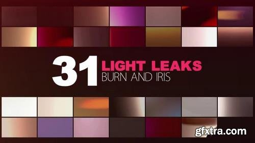 Modern Color Kit with Light Leaks After Effects Templates