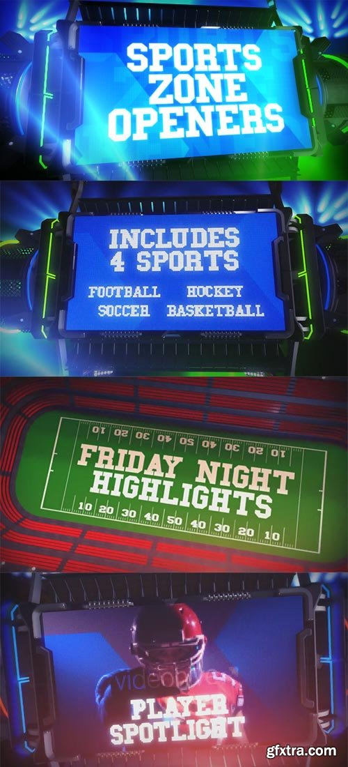 Videohive - Sports Zone Openers - 19263282