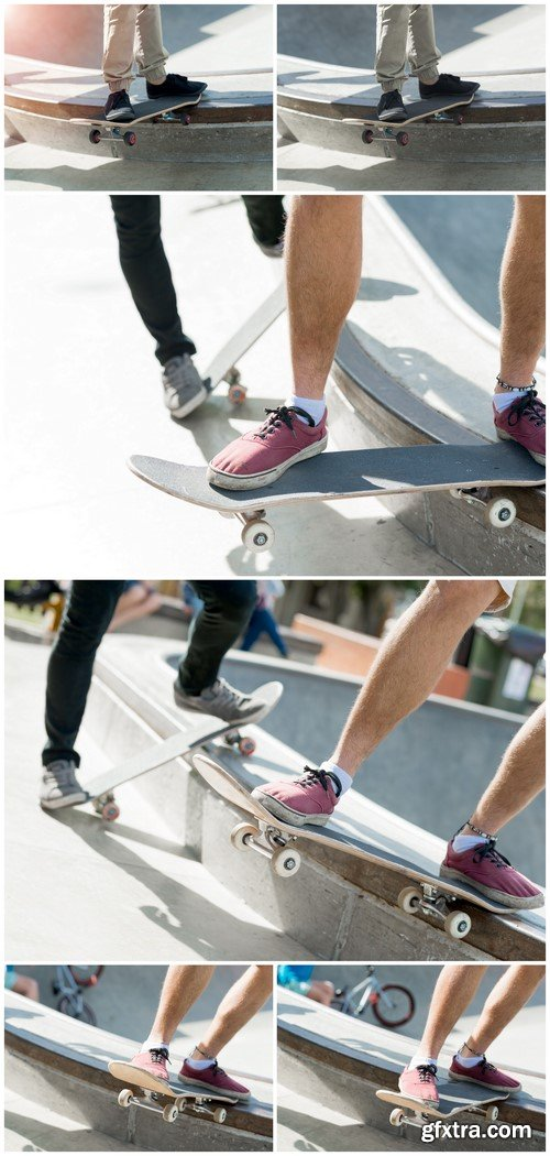 Guys riding skateboard 6X JPEG