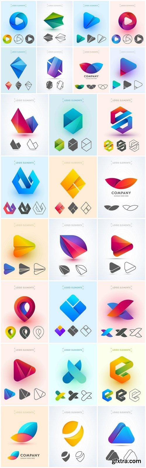 Logo Design Elements - 26 Vector