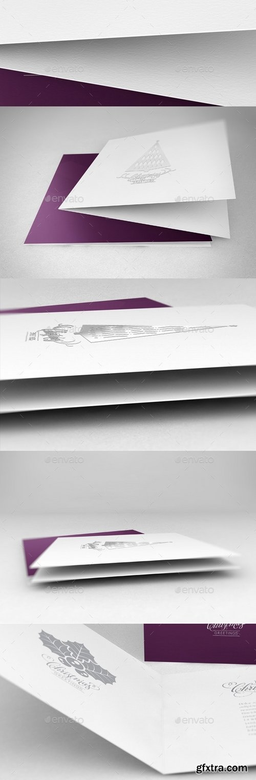 GraphicRiver - Realistic Greeting Card Mockups 6243869