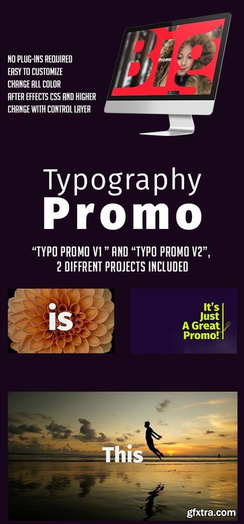 Videohive - Typography Promo - 19359800