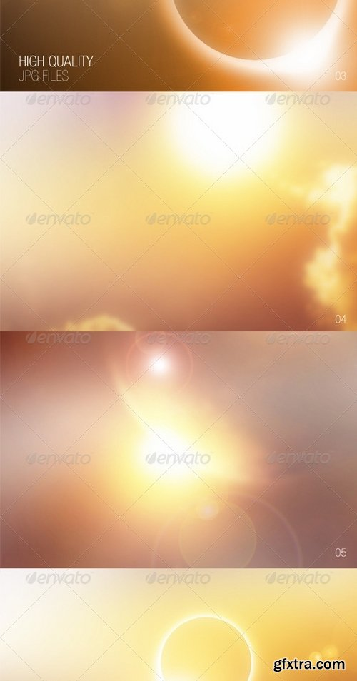 GraphicRiver - Sun Backgrounds 6973251