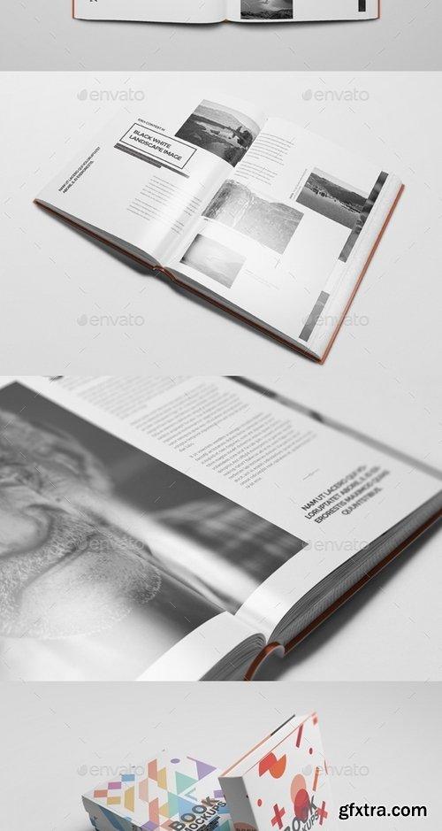 GraphicRiver - Book Mockups 19028038