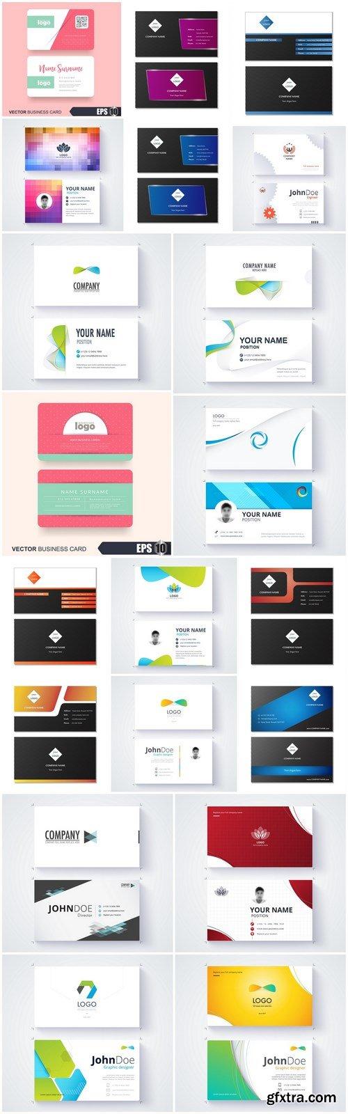 Business Card Design #145 - 20 Vector