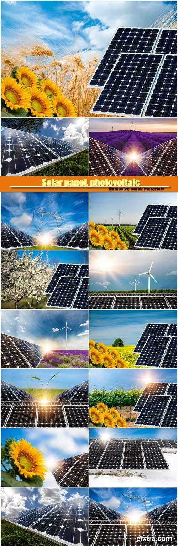 Solar panel, photovoltaic, alternative electricity source