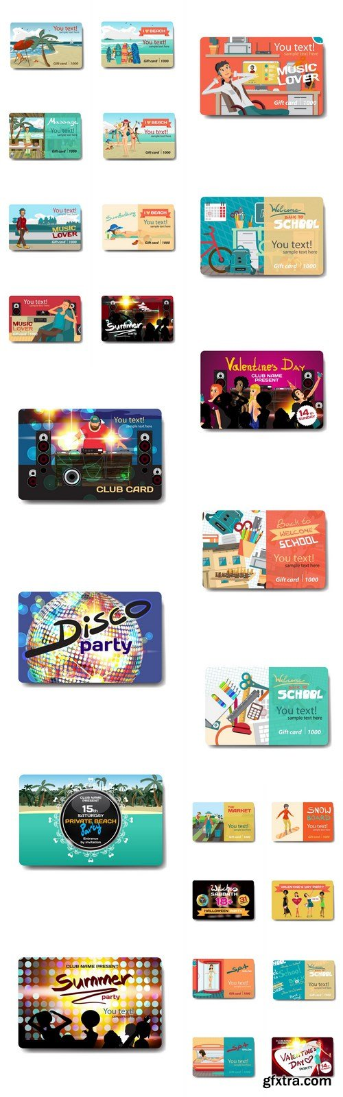 Discount Gift Card - 25 Vector