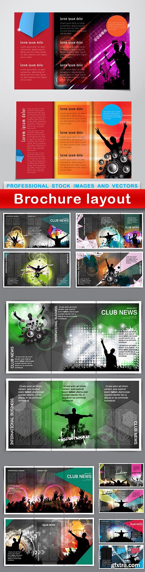 Brochure layout - 7 EPS