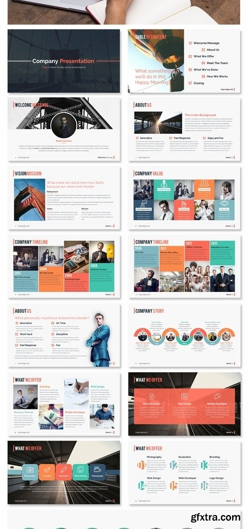 GraphicRiver - START Keynote - Modern Clean Presentation 14222084
