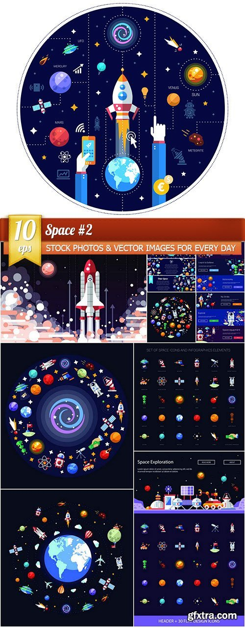 Space #2, 10 x EPS
