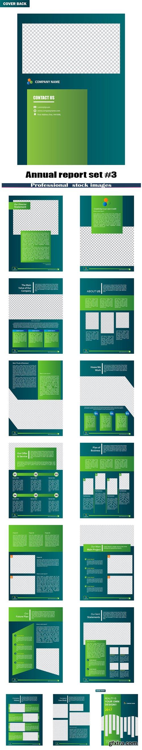 Annual report set #3