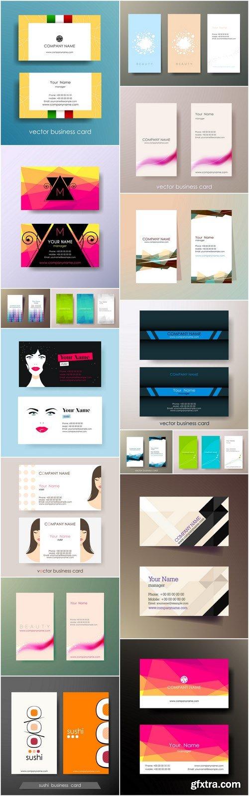 Business Card Design #146 - 16 Vector
