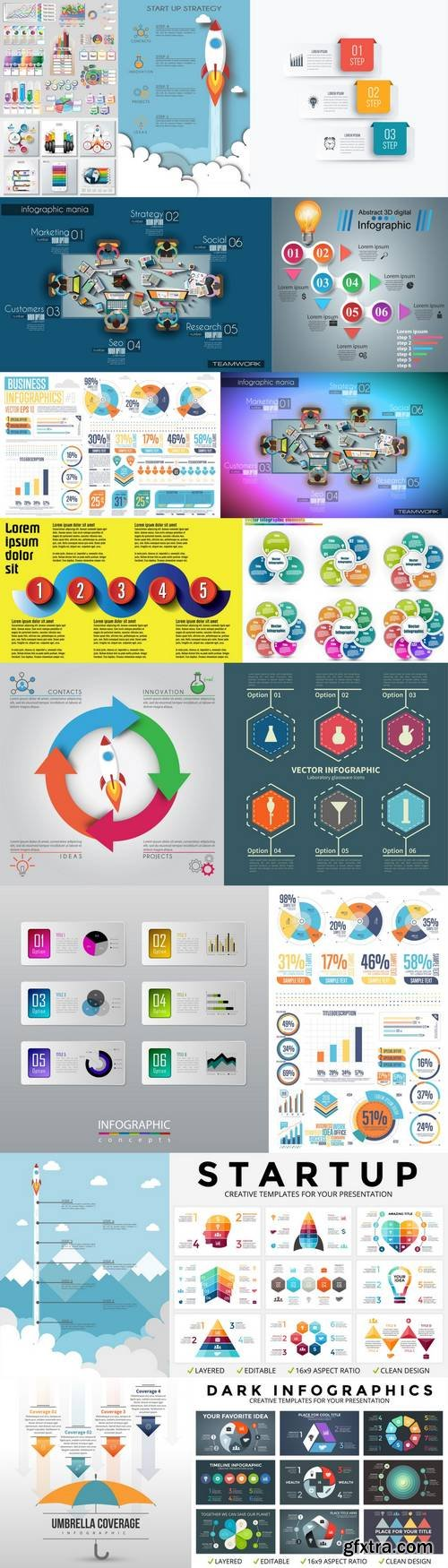 Infographic Template Mix 2
