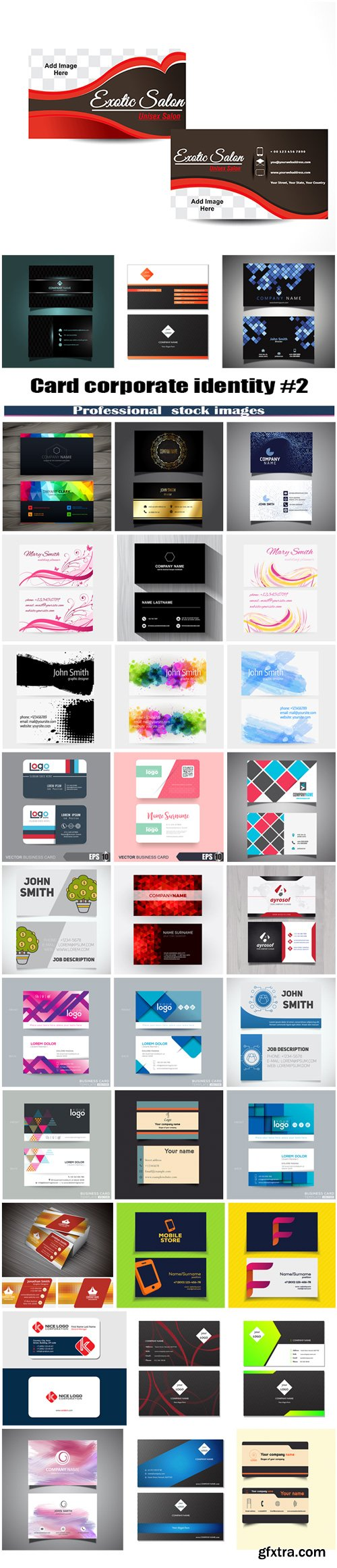 Card corporate identity #2
