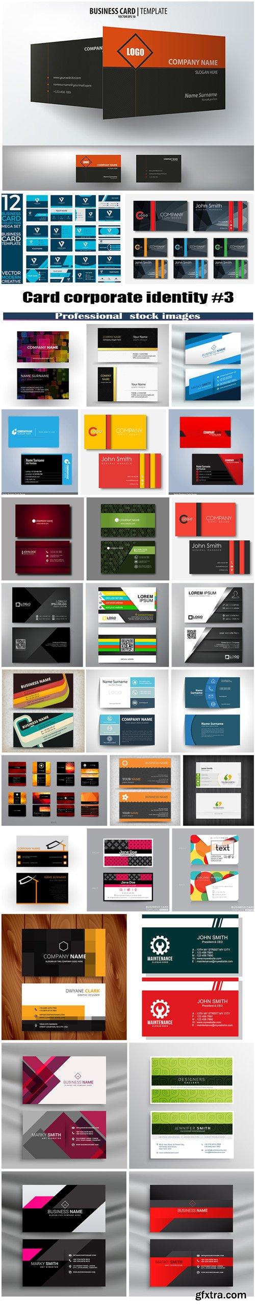 Card corporate identity #3