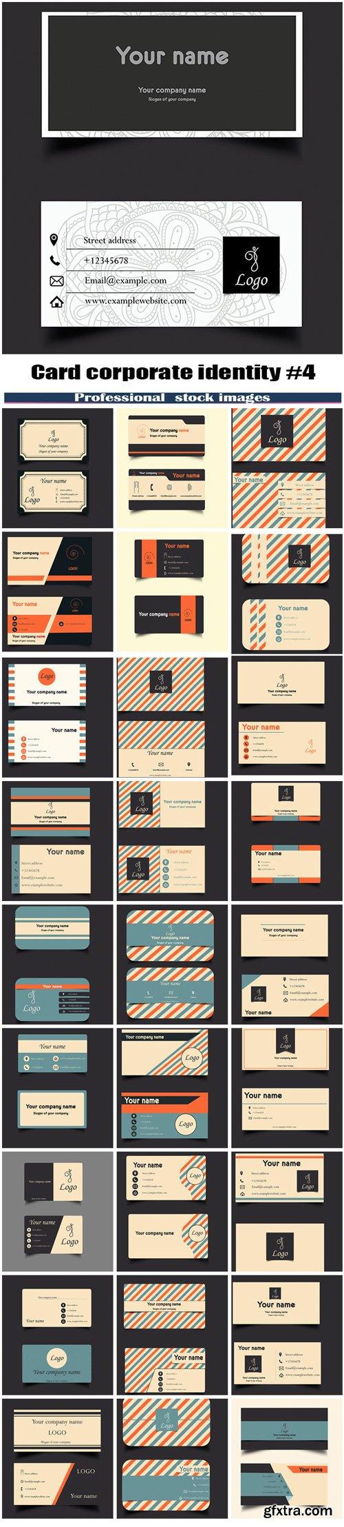 Card corporate identity #4