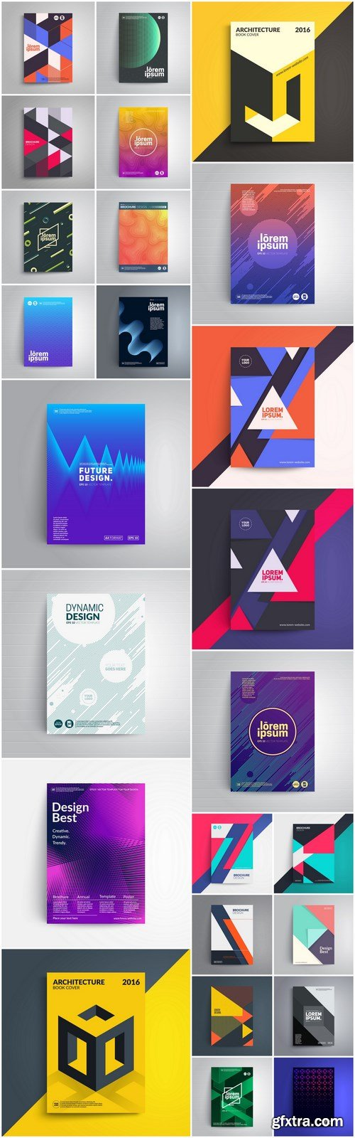 Abstract Cover Template - 25 Vector