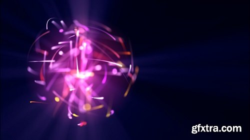 Light particles in purple