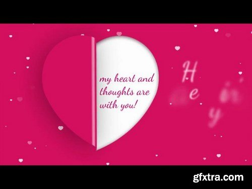 Valentine's Day Greetings After Effects Templates