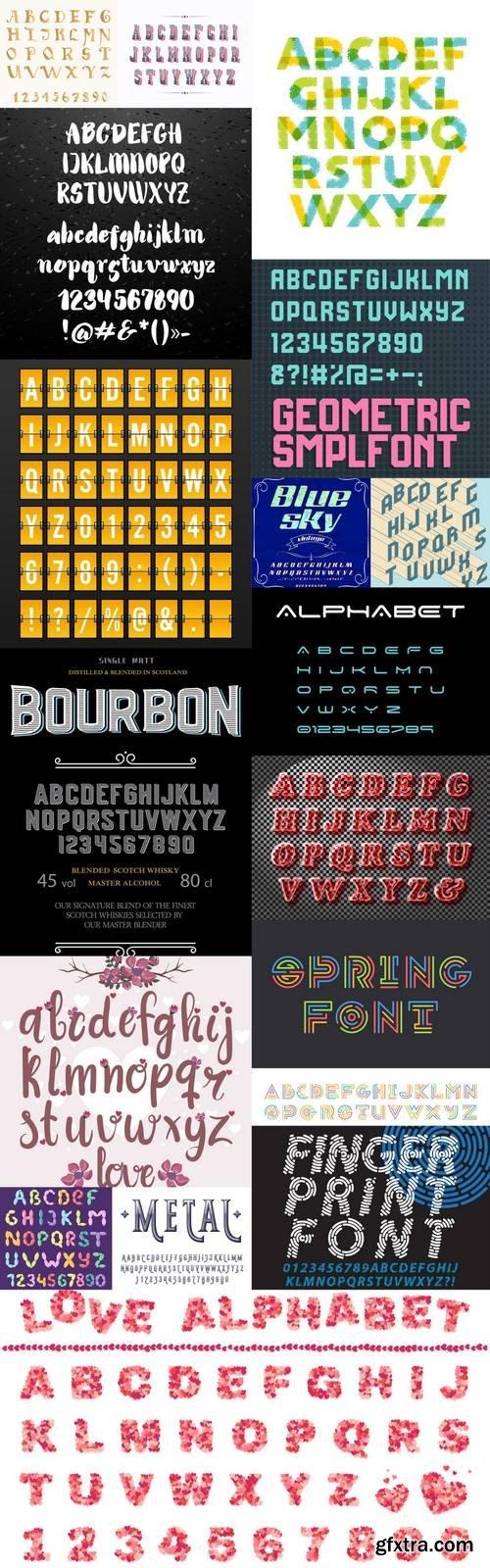Alphabet Vector Font 8