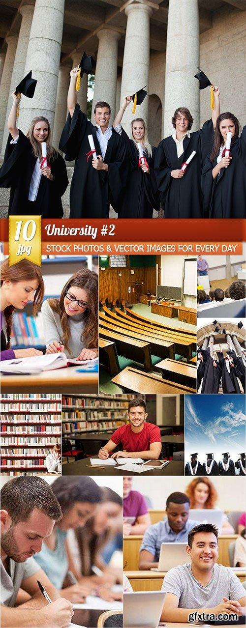 University #2, 10 x UHQ JPEG