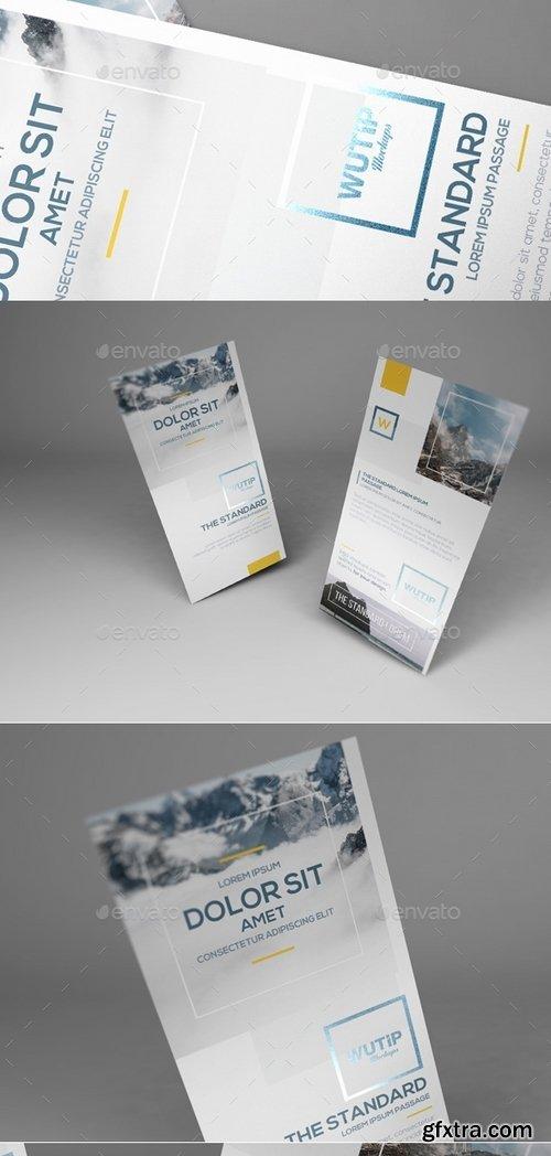 GraphicRiver - DL Flyer Mockups 13167073
