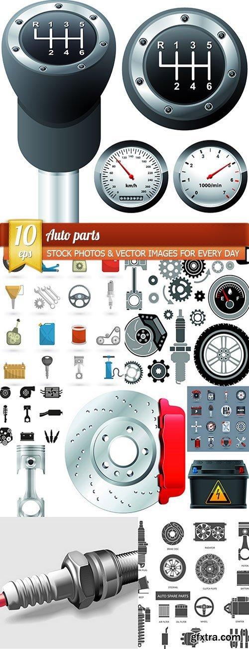 Auto parts, 10 x EPS