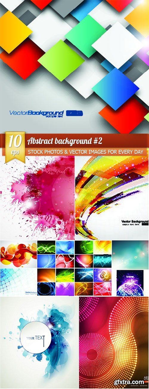 Abstract background 2, 10 x EPS