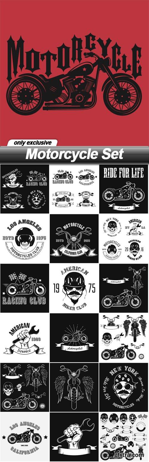 Motorcycle Set - 19 EPS