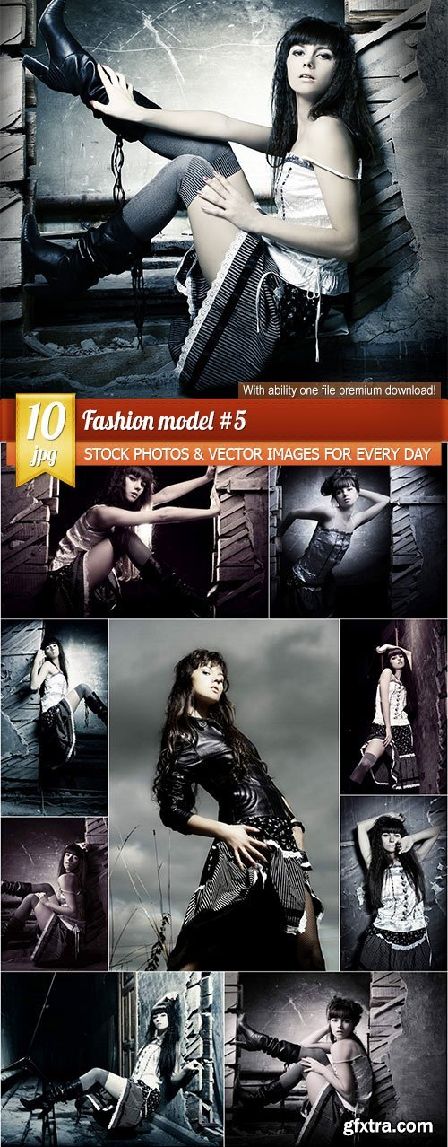 Fashion model #5, 10 x UHQ JPEG