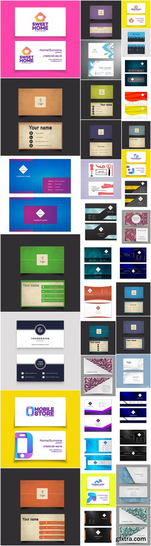 Business Card Design #148 - 38 Vector