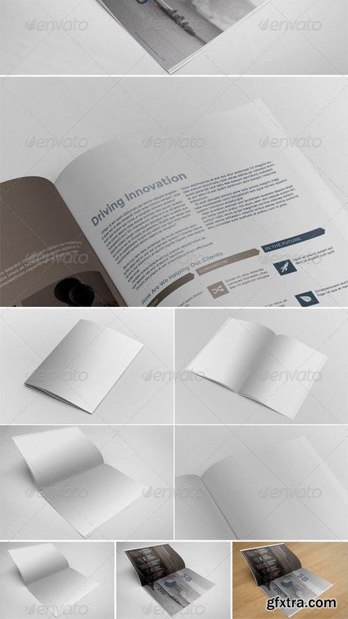GraphicRiver - Brochure Mockups 6530322