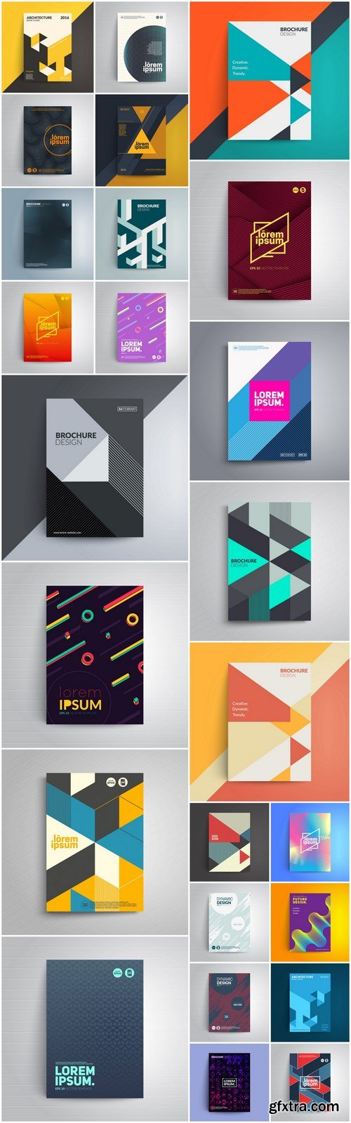 Abstract Cover Template #2 - 25 Vector