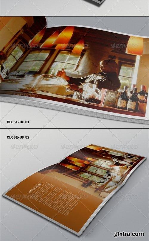 GraphicRiver - Realistic Square Brochure Mock-ups Templates 1744235