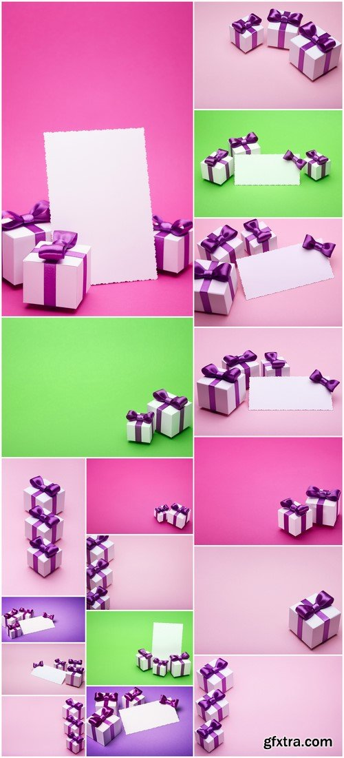 Beautiful gifts with satin bow 17X JPEG