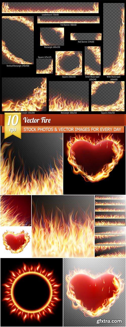 Fire, 10 x EPS
