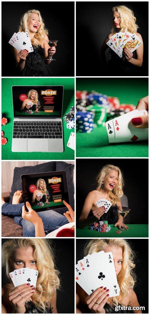 Online poker 8X JPEG