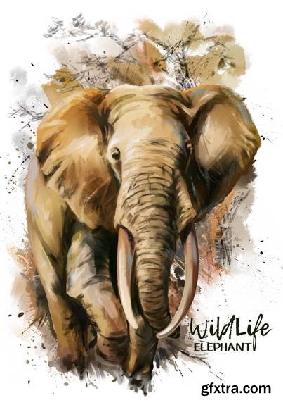 Animals Watercolor Painting