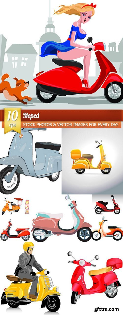 Moped, 10 x EPS