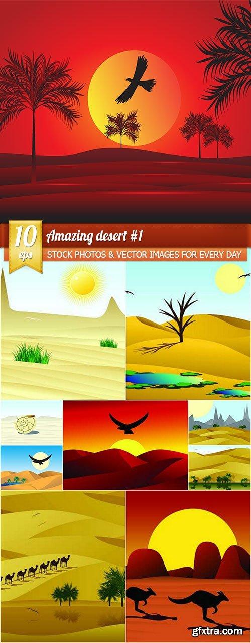 Amazing desert #1, 10 x EPS